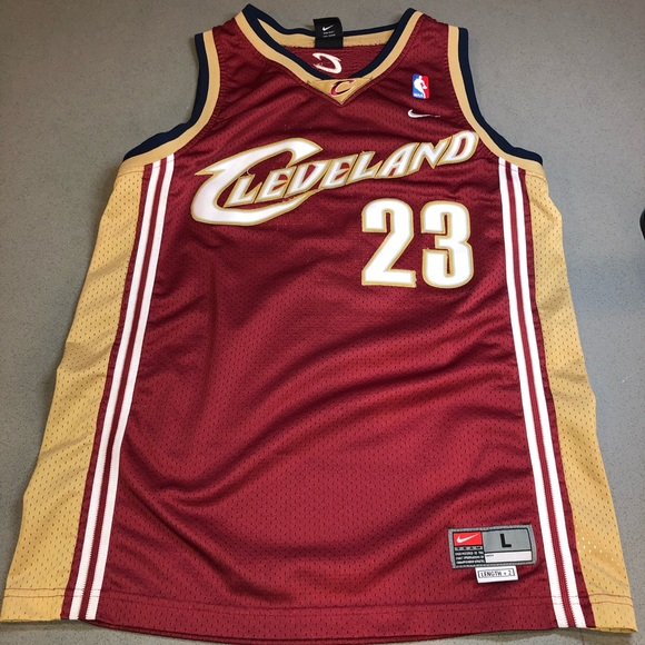 sneakers for cheap 744ca 57edf Lebron James Rookie Jersey